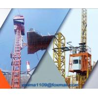 Buy cheap SC50 Single Cage Passenger Elevator for Tower Cranes Height 500KG Load Capacity from wholesalers