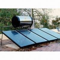 Buy cheap EN12975 Flat Plate Solar Collector with 1.5mm Aluminum Alloy Frame and Tempered Glass from wholesalers