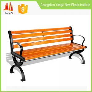 China Bench with armrest and backrest rustic garden furniture sets on sale