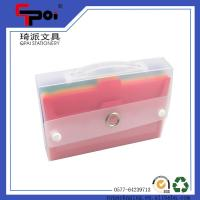 Buy cheap Office Supplier Expanding File Folder Carrying Case PP Colorful Expanding Wallets from wholesalers