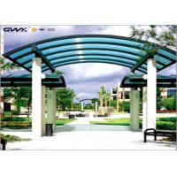OEM Coloured 6mm Solid Polycarbonate Sheet For Corridor Roofing Cover