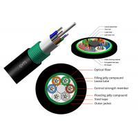Buy cheap GYTS 72B1.3 Outdoor Fiber Optic Armoured Cable G652D 36B1.3 G652D Overhead / Pipeline PE from wholesalers