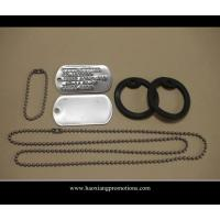 Buy cheap Wholesale no minimum blank cheap dog tag/custom silver,gold,bronze dog tag with ball chain from wholesalers