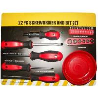 Buy cheap 22pc Screwdriver and Bit Set from wholesalers