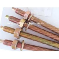 Buy cheap high quality galvanized stud bolt for chemical anchor from wholesalers