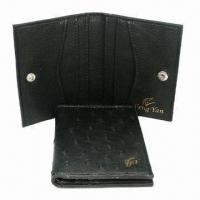 Wholesale Business Name Card Cases, Made of PU, Comes in Fashionable Designs, Measures 10 x 8cm from china suppliers