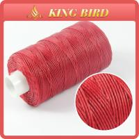 Buy cheap Dyed Spun Polyester Waxed Thread Functional Yarn Flame Retardant from wholesalers