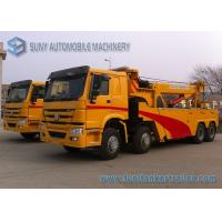 Buy cheap 50 Ton Heavy Duty Rotator Wreckers , Euro 2 HOWO 8 X 4 Truck from wholesalers