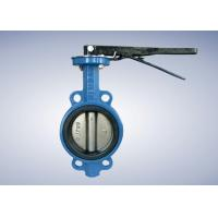 """4"""" PN16 Ductile Iron Wafer Shipbuilding Butterfly Valve"""