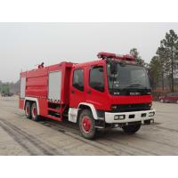 Buy cheap rescue water cannon firefighter truck brand new standard fire fighting truck dimensions for sale from wholesalers