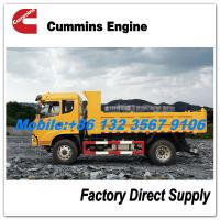 Buy cheap Sitom T3 Cummins 190HP 12 ton 15 ton 16 ton tipper truck dimensions customizable for sale - LHD / RHD from wholesalers