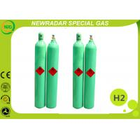 Buy cheap Colorless High Purity Gases H2 Hydrogen Gas 0.8L - 80L Cylinders For Coolant from wholesalers