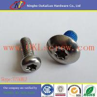 China 18-8 Stainless Steel Metric Machine Screws on sale