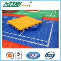 PP Outdoor Interlocking Removable Playground Rubber Mats 250x250x12.7cm Manufactures