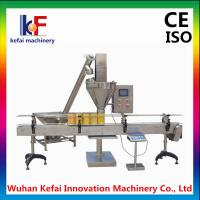 Buy cheap automatic stainless steel auger filler powder filling machine for milk powder coffe powder from wholesalers