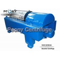 Buy cheap PLC Control Water Sludge Decanter Centrifuge Continuous Centrifuge With SKF Bearing from wholesalers