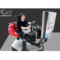 Buy cheap INFINITY 3 Screens Race Car Driving Simulator , VR Auto Simulator Arcade Games from wholesalers