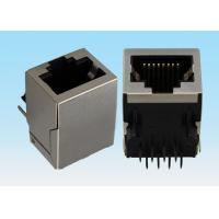 Buy cheap DIP Type Mini RJ45 Connector , Ethernet Cable RJ45 Connector Without Card Slot from wholesalers
