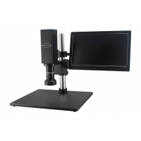 Buy cheap 0.6-5.0X Electric stepless  All-In One  Zoom Smart Measuring Video Microscope from wholesalers