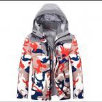 Buy cheap Custom Printed Camo Hooded Anorak Jacket Men'S Winter Coat Breathable from wholesalers