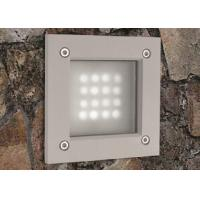 Wholesale LED 3W  Outdoor sqaure shape Step Light  IP55 aluminum  with COB Chip R3A0009  Dia.100*118*H100mm from china suppliers