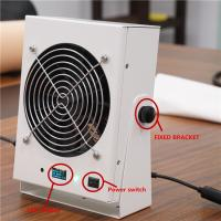 Buy cheap Audible And Visual Alarm Ionizing Air Blower Static Eliminator DC 24V from wholesalers