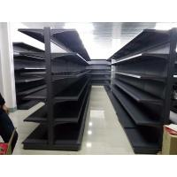 Buy cheap Gondola Steel Customized Supermarket Racking Gray Shelves For Shop from wholesalers
