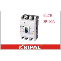 Buy cheap 3P CE Leakage / Residual Current Molded Case Switch Earth Leakage ELCB Non Delay Type from wholesalers