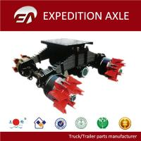 Buy cheap 6 holes spider hub semi-trailer bogie axle for sale from wholesalers