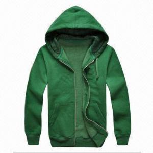 China Hoodies Coats/Sweat Wear, Ideal Cotton Fabric Jacket on sale