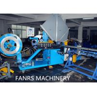 Wholesale Auto Duct Line Stainless Steel Flexible Spiral Cutting Machine Fully Auto Material Feeding from china suppliers