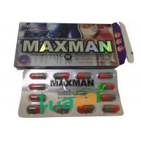 Wholesale Maxman IV Capsules Natural Male Enhancement Pills To Thicken Penis Size 3800mg * 12 Pills from china suppliers