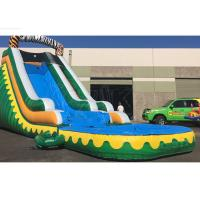 Buy cheap Outdoor Summer Cool Inflatable Water Slide And Pool 9Mx 3M X 5M Easy Installation from wholesalers