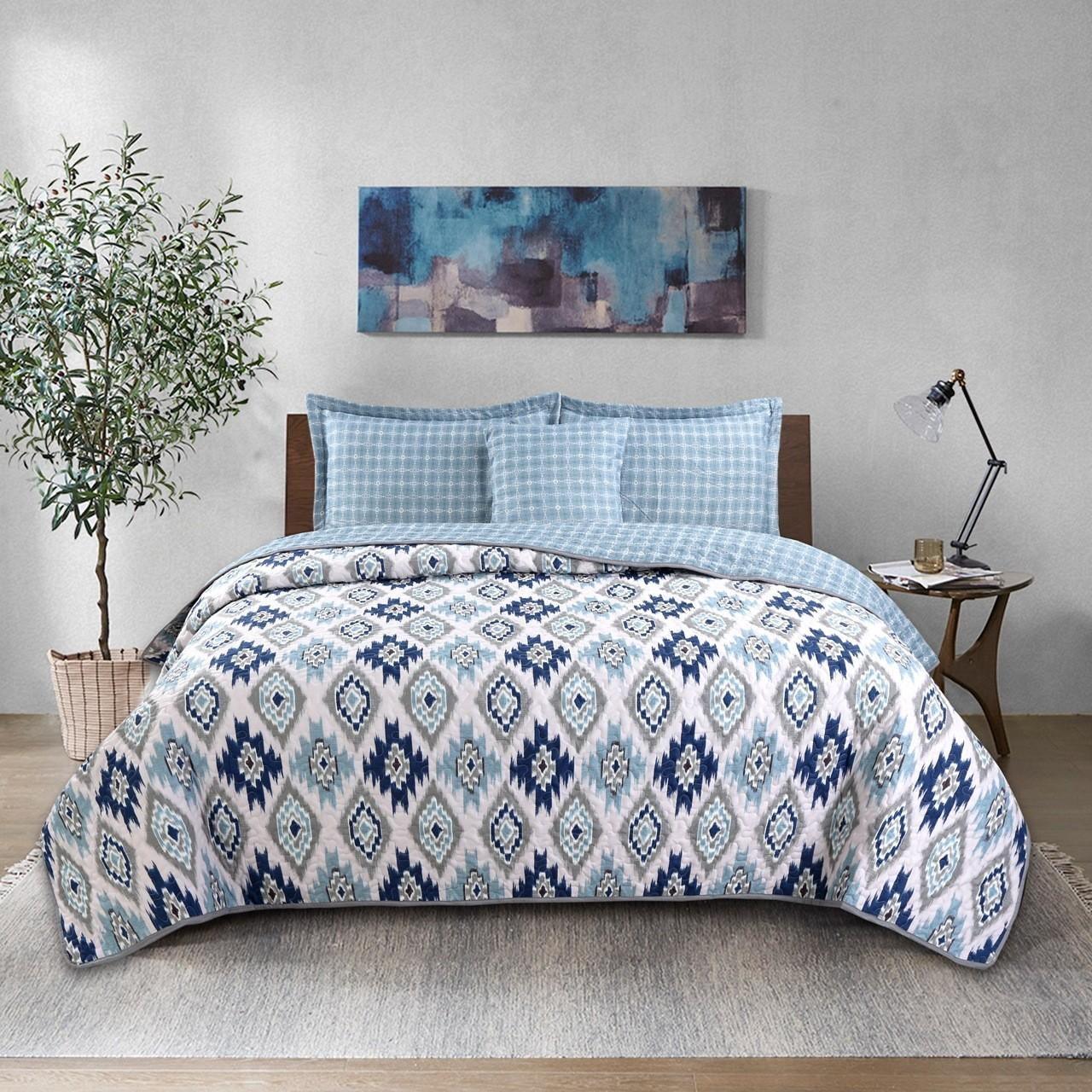 Buy cheap American style Quilt Set 3pcs air conditioner summer Quilt Cotton Quilted Bedspread summer Blanket coverlet set from wholesalers