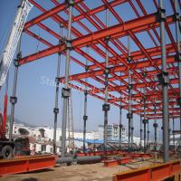 Buy cheap Large Span Prefabricated Structural Steel Workshop with Best Design from wholesalers