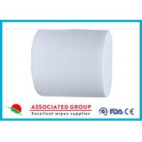 Spunlace Nonwoven For Household Cleaning Wipe Wet Tissues 30~110GSM Manufactures