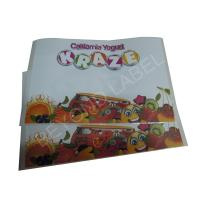 Buy cheap Yogurt CMYK Self Adhesive Paper Labels Personalized Food Packaging Stickers from wholesalers