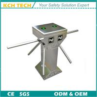 Wholesale Double Core Three Arms Tripod Turnstile with RFID Card Reader from china suppliers