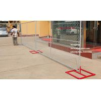 Cross Brace Galvanized Temporary Chain Link Fencing (In Ground and Portable)