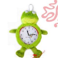 China Plush Frog Clock Toy (TPZS0133) on sale