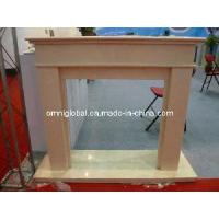 Buy cheap Limestone Marble Stone Fireplace/ Mantel from wholesalers