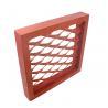 Buy cheap Orange Expanded Aluminum Mesh , Aluminium Diamond Mesh For Building Facade from wholesalers