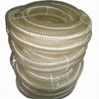 Wholesale Abrasion-resistant Polyurethane Air Ducts with Brass-plated Steel Wire, Various Colors are Available from china suppliers