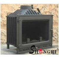 Buy cheap 12kw insert wood burner cast iron fireplace product