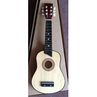Wholesale Six String 25 Inch Wooden Toy Guitar Children Ukulele Natural Color AG25-3016C from china suppliers