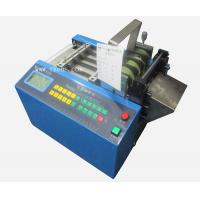 Buy cheap Automatic Silicone rubber fiberglass insulation tube cutting machine from wholesalers