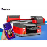 Buy cheap Large Format UV Flatbed Printing Machine DOMSEM 3060 For Plastics / Glass / T Shirt from wholesalers