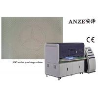 Buy cheap Fully Automatic Leather Perforating Machine / Leather Hole Punching Machine from wholesalers