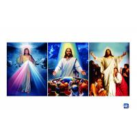 Wholesale 30X40cm Flip Wall Art Posters Religion Jesus Christ / Virgin Mary Theme from china suppliers