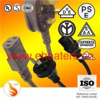 Buy cheap power cord plug for Europ and english from wholesalers